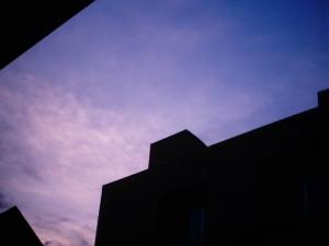 /Por do Sol no Hotel