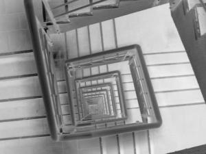 /O outro lado do elevador