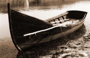 /Velho barco de pesca