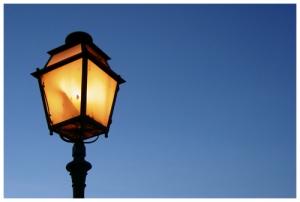 Paisagem Urbana/Anunciando a noite...