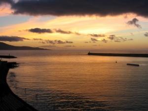 /Amanhecer em Ponta Delgada