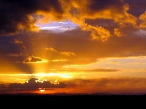 /Pôr-de-sol