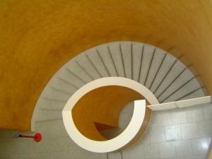 /escada enrolada