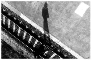 /A pessoa da sombra