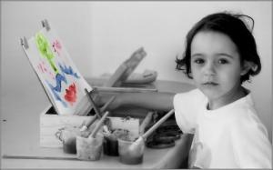 /A pequena artista