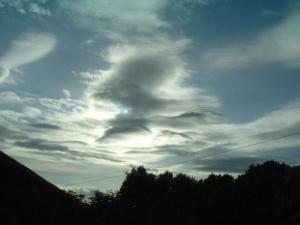 /Golfinhos brincando nas nuvens
