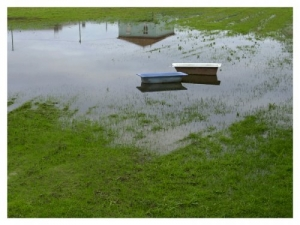Abstrato/Inundação na casa de banho...