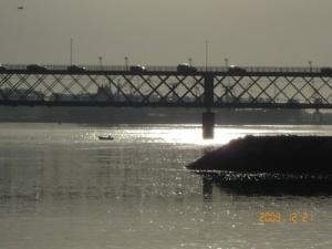 /Ponte de Viana do Castelo ao fim da tarde
