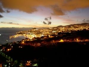 /Vista sobre a baia do Funchal