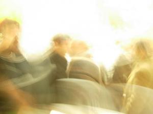 Abstrato/Começou o baile...das cadeiras...:)