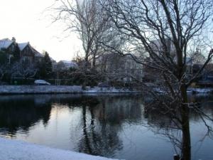/Inverno frio em Roterdão