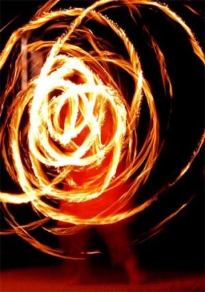 /Dança com fogo