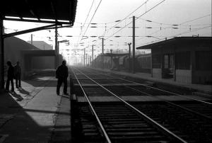 /Amanhecer na estação