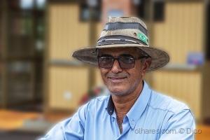 Retratos/Chico chapéu