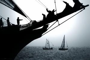 História/além, o mar...