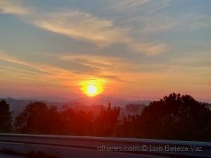 Gentes e Locais/Pôr do sol de hoje em Braga