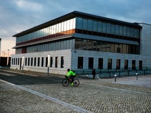 Paisagem Urbana/O ciclista