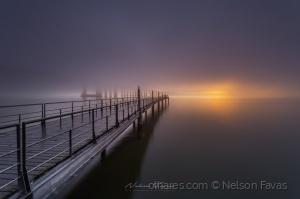 Paisagem Natural/Dias de névoa - Ponte Vasco da Gama