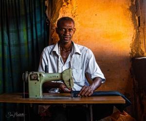 Retratos/The dressmaker...