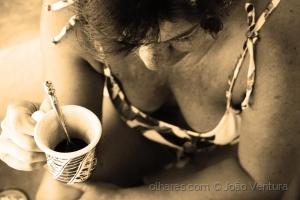 Retratos/Pausa para o café