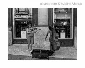 Fotografia de Rua/Dupla de cordas