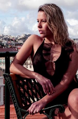 Outros/Lilyan sobre o telhado de Lisboa II