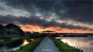 Paisagem Natural/Pateira sunset
