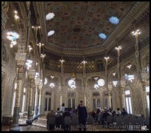 """Arquitetura/"""" Alqaea  Earabiin """" ( Salão Árabe)"""