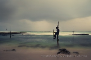 Paisagem Natural/The loneliness of a fisherman