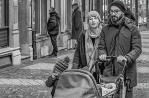 Fotografia de Rua/Passeio de inverno em familia