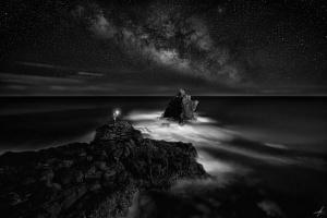 Paisagem Natural/Procurando a Via Láctea