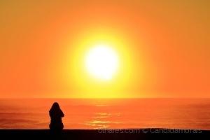 Retratos/Autorretrato ao por do sol