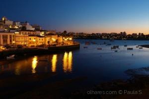 Gentes e Locais/Ferragudo at night