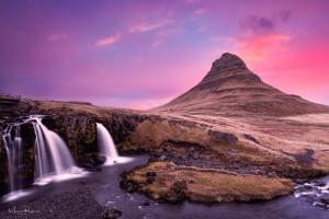 Paisagem Natural/Kirkjufell, Islândia.