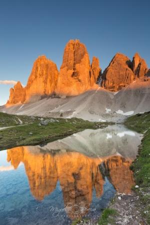Paisagem Natural/Tre Cime reflections....