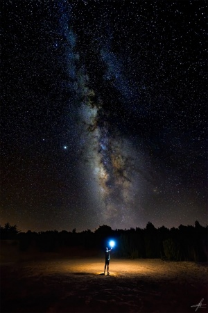 Paisagem Natural/Histórias da Via Láctea