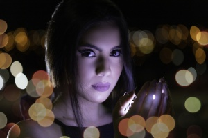 Retratos/Iza e as luzes