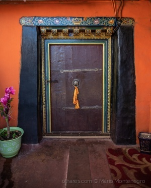 /A porta do Dalai Lama