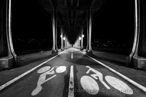 Paisagem Urbana/A estrada do tempo – P/B