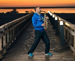 Retratos/O corredor do saxofone