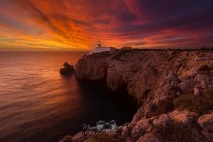 Paisagem Natural/Sunset at the lighthouse