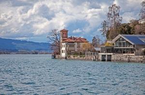Paisagem Urbana/Casa do lago