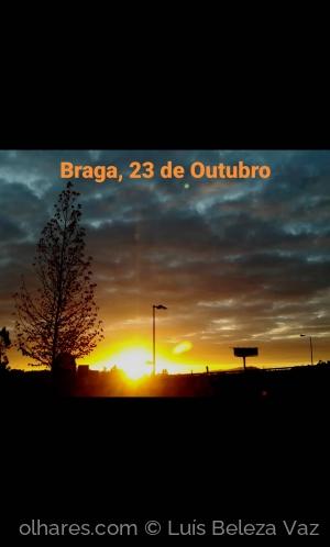 Paisagem Urbana/Pôr do sol
