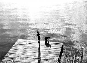 Gentes e Locais/brincadeiras a beira rio...
