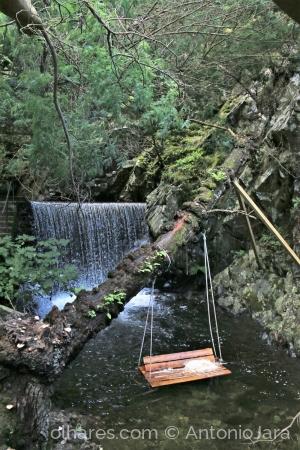 Paisagem Natural/A Cascata e o baloiço - Lousã