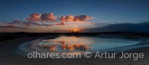 Paisagem Natural/Alvor - Portimão - Algarve  Sunset