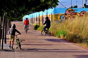 Fotografia de Rua/A LIBERDADE DE PEDALAR PELA CIDADE