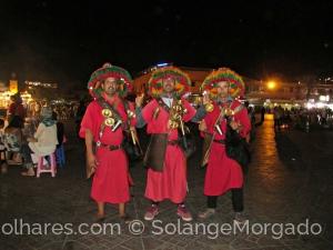 /Alegria numa praça Marroquina