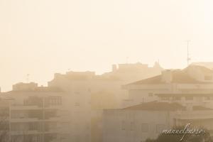 Paisagem Urbana/Nevoeiro na cidade