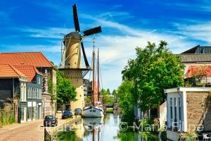 Paisagem Urbana/A luz dos canais Holandeses